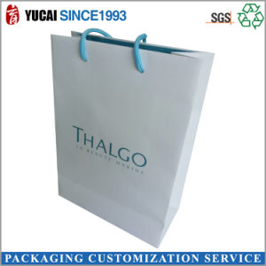 210g White Cardboard Paper Shopping Bag White Bag pictures & photos