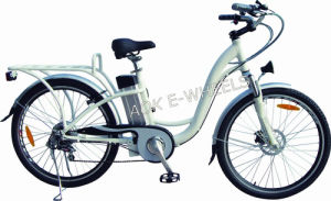 250W Lithium Batteryt City Electric Bicycle for Girls (TDE-038XB) pictures & photos
