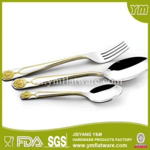 24PCS Stainless Steel Cutlery, Flatware Set with Wooden Box