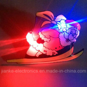 Christmas LED Light Blinky Pin for Holiday Party (3161) pictures & photos