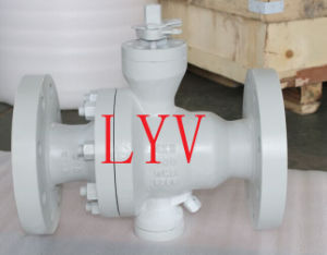 API Stainless Steel Flanged Ball Valve pictures & photos