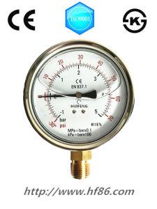 Vacuum Oil Filled Pressure Gauge pictures & photos