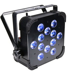 12X15W RGBWA 5-in-1 Wireless DMX LED Flat PAR pictures & photos