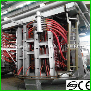 Hot Sale! ! 1.25t Steel Shell Industrial Electrical Melting Induction Furnace pictures & photos