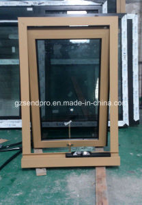 Australia Standard Design Double Glass Aluminum Awning Window