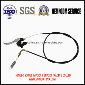 Scojet Control Cable with Handle Spring for Lawn Mower pictures & photos