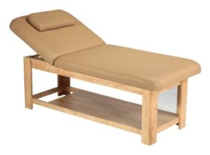 Wooden Base Strong SPA Massage Bed (YS-2010) pictures & photos