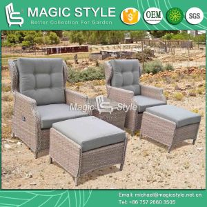 Patio Wicker Relax Chair Garden Rattan Relax Sofa Pneumatic Chair Outdoor Adjustable Chair (Magic Style) pictures & photos