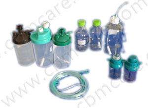 Y-Type Oxygen Flowmeters with Humidifier Bottles pictures & photos