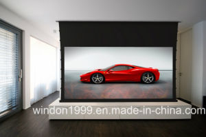 Electric Projector Screen / Morized Tab Tensioned Projection Screen pictures & photos
