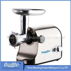 G906, Powerful Electric Meat Grinder Mince Machine with Reverse Function.