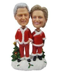 Polyresin Custom Couple Bobble Head on Table Decoration pictures & photos