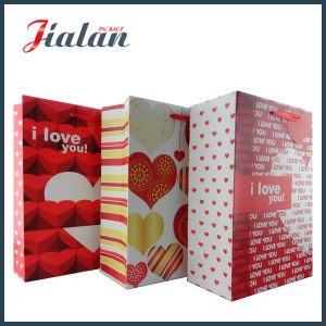 """Valentine′s Day - """"I Love You"""" Hand Shopping Gift Paper Bag pictures & photos"""