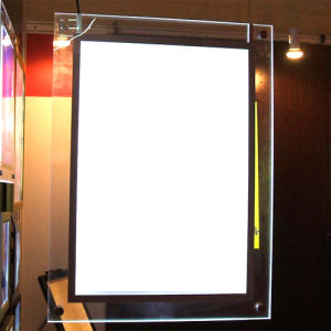 Clear Edge Lit Light Diffuser for LED Light Box