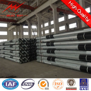 Tubular Transmission Line Steel Poles pictures & photos