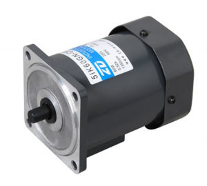 electrical motor, AC gear motor, 90mm 60W pinion shaft pictures & photos