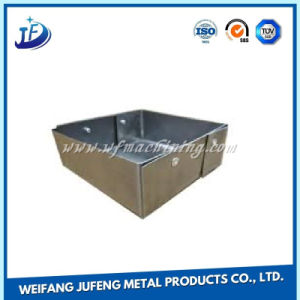 Customized Metal/Steel/Brass Sheet Punching Parts with Zinc Plating pictures & photos