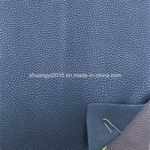 Be182 Lichee Pattern Synthetic Leather (PU) for Mens & Ladies Bags pictures & photos