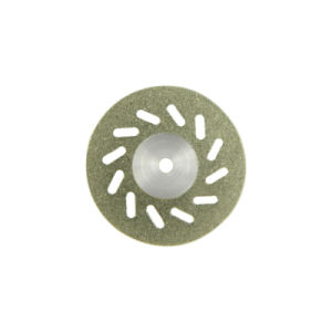 Em19d20 Flexible Miniature Perforated Dental Full Coated Diamond Disc pictures & photos
