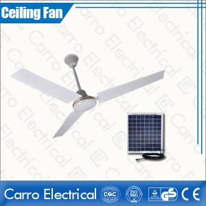 Nigeria and Egypt Market 12V Solar DC Ceiling Fan