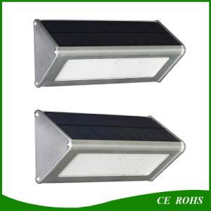 Durable High Quality Aluminum Microwave Radar Motion Sensor 48LED 1000lm Solar Lamp IP65 Outdoor Solar LED Wall Light pictures & photos