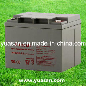 Yuasan Professional Manufacturing Mini 12V Lead Acid Gel Battery--Npg38-12 (12V38AH)