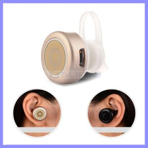 Hi-End Super Mini Wireless Hidden Invisible Bluetooth Earphone for Samsung S6 S7 Edge iPhone 6s Plus pictures & photos
