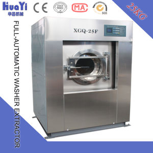 Full Automatic Laundry Washer (10kg-300kg) (clothes, gloves, T-shirts, pants, garment, fabric, linen, bedsheet washing machine) pictures & photos