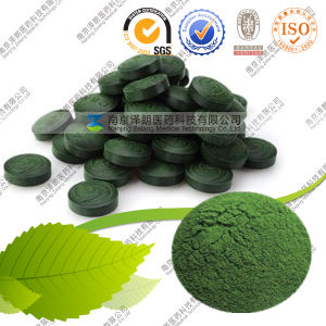 Food Grade Spirulina Tablet/Capsule 65% Protein pictures & photos