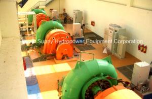Hydro (water) Francis Turbine - Generator Sfw-1200 High Voltage 6.3kv / Hydropower Alternator/ Hydroturbine Generator pictures & photos