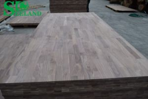 American Walnut Finger Joint Board for Furniture (Vertical) pictures & photos