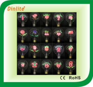 GF-80 Colorful Flame Bulb with CE and RoHS pictures & photos