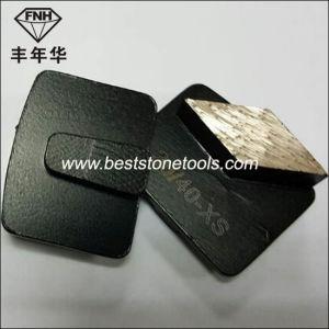 M12A Redi Lock System Rhombus Diamond Grinding Blocks