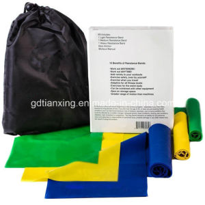 Fitness Premium Resistance Band Set pictures & photos