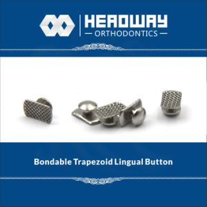 Headway Ce Trapezoid Curved Lingual Button pictures & photos