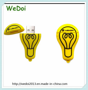 Cartoon Bulb USB Stick with Customized Logo (WY-PV29) pictures & photos