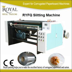Paper Film Slitter Paper Slitting Rewinding Machine pictures & photos