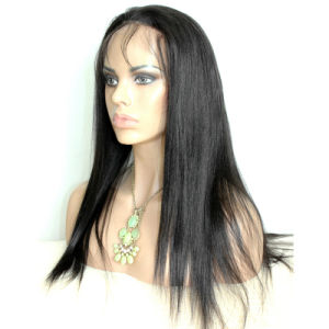 Natural High Quality 100% Virgin Human Hair Full Lace Wigs pictures & photos