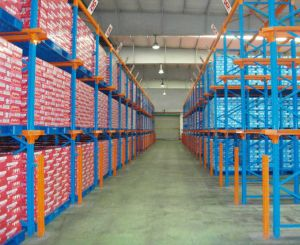 Heavy Duty Warehouse Storage Drive in Metal Rack pictures & photos