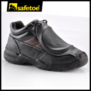 Fireproof Safety Shoes with Ce Certification M-8215b pictures & photos
