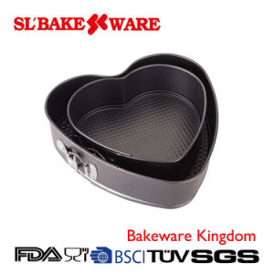 Heart Springform Sets Carbon Steel Nonstick Bakeware (SL BAKEWARE)