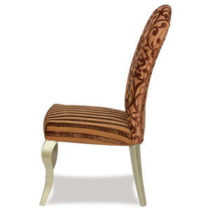 Wooden White Leather Restaurant Dining Chair pictures & photos