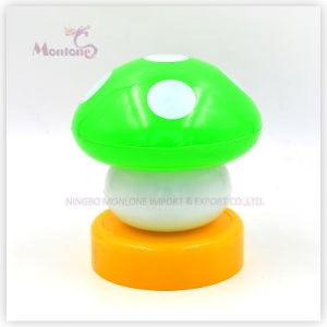 ABS Mushroom Shape Push Light pictures & photos