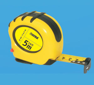 5m Rubber Covered Magnetic Steel Tape Measure