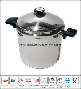 Big Deep Soup Stock Pot with Dome Cover pictures & photos