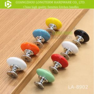 Wholesale Decorative Colorful Round Ceramic Drawer Cabinet Knobs pictures & photos