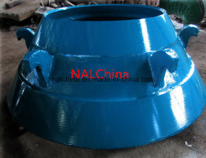 Manganese Cone Crusher Parts Cone pictures & photos