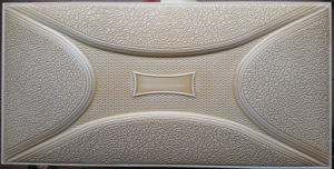 3D PU Leather Wall Panel for Decoration (HS-MK026) pictures & photos