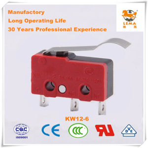 Lema Black and Red Kw12-6 Micro Switch pictures & photos