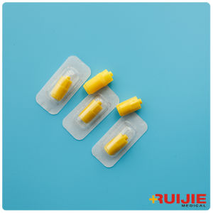 Yellow Heparin Cap pictures & photos